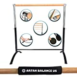 Artan Balance US Barra de Ballet portátil para casa o Estudio, Ajustable, para Adultos y niños, Equilibrio elástico, Hacer un Entrenamiento o Baile